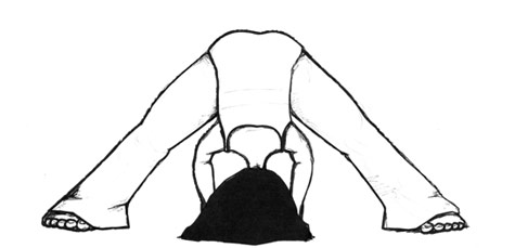 Wide-Legged Standing Forward Bend - Prasarita Padottanasana